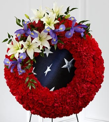 "The To Honor Their Countryâ""¢ Wreath"