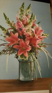 David\'s Flower Arrangement 1
