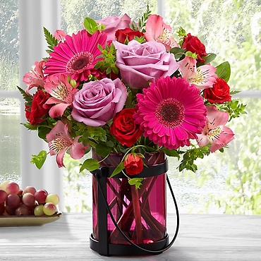The Pink Exuberance Bouquet by Better Homes and Gardens&r