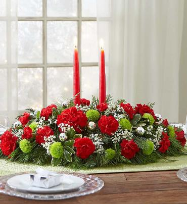 Seasons Greetings Centerpiece