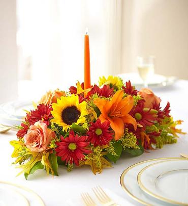Fields of Europe for Fall Centerpiece