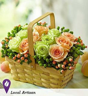 Basket Full of Roses
