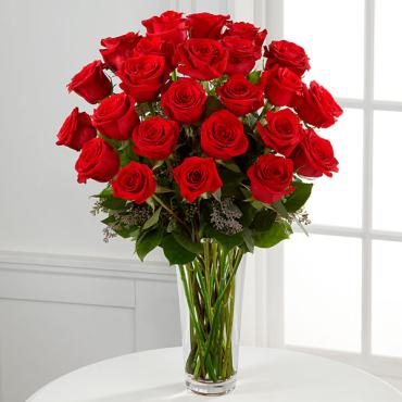 24 Long Stem Red Rose Bouquet